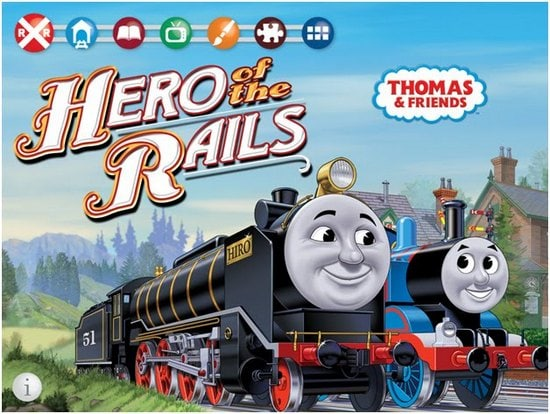 thomas the tank engine hero