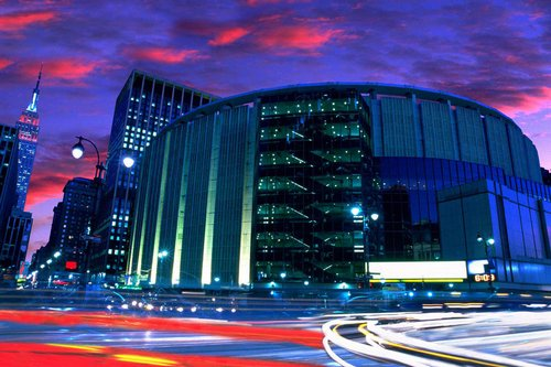 My private tour of madison square garden lady and the blog - Madison square garden concert capacity ...