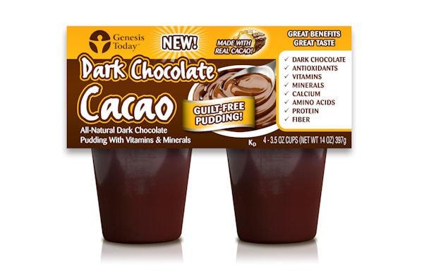 Genesis Today Dark Chocolate Pudding