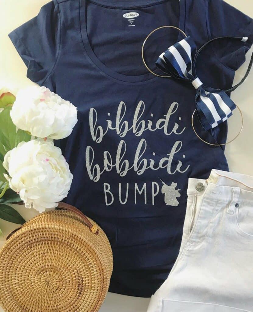Bibbidi bobbidi bump shirt