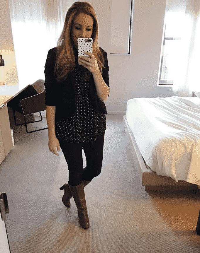 Wearing black is slimming