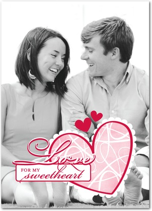 are you looking for a personalized valentines day card that is guaranteed to make your significant other swoon i am in love with these customizable cards - Personalized Valentines Day Cards