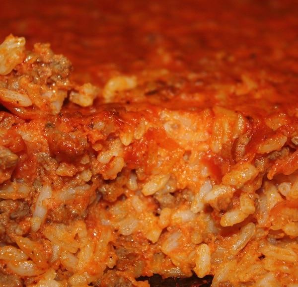 baked rice casserole