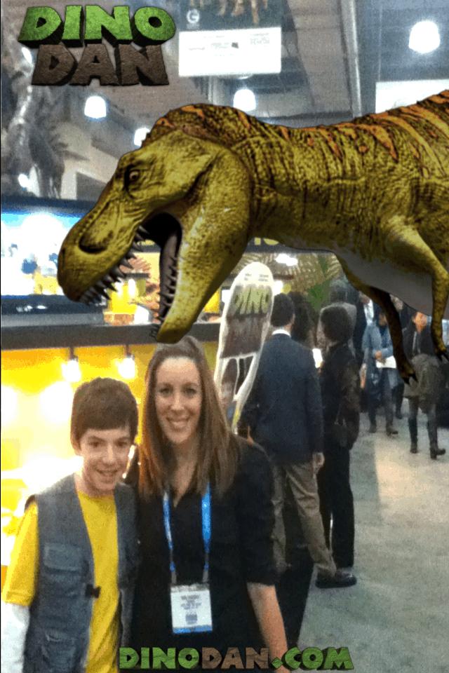 Look Who I Met At The Ny Toy Fair: Dino Dan