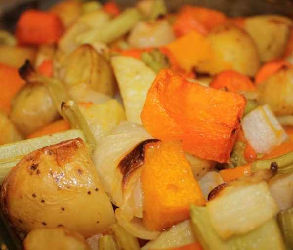 Thanksgiving Side Dish: Roasted Vegetables