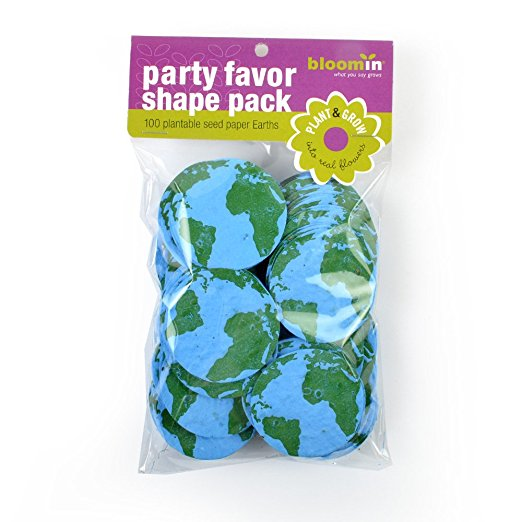 Bloomin Seed Paper Shapes Packs - Earth Shapes - 100 Shapes Per Pack
