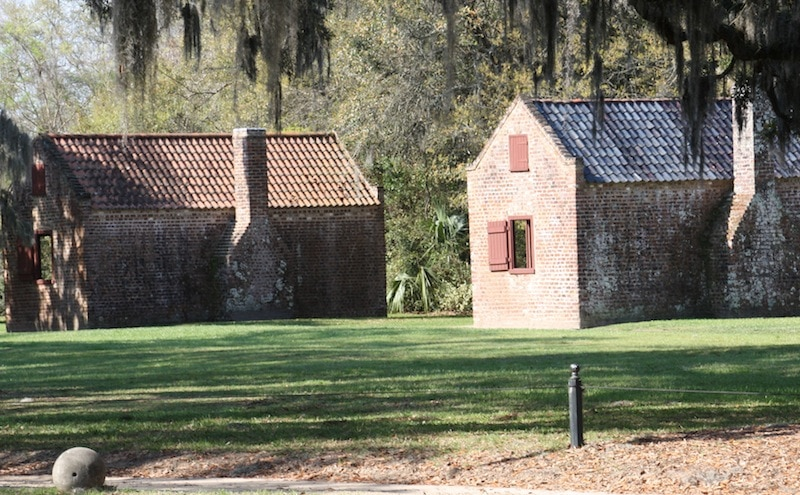 slave quarters Boone Hall Plantation
