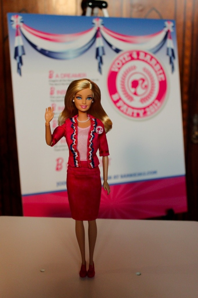 Barbie's 2012 Presidential Glampaign with Chris Benz