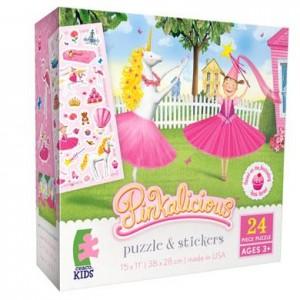 pinkalicious 24 piece jigsaw puzzle