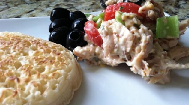 no cook meal - chicken salad