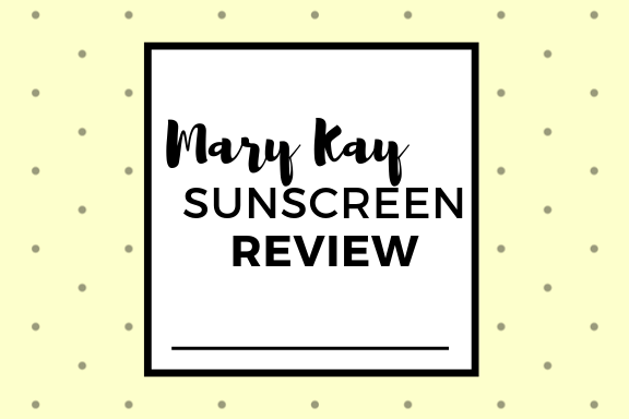 mary kay sunscreen review