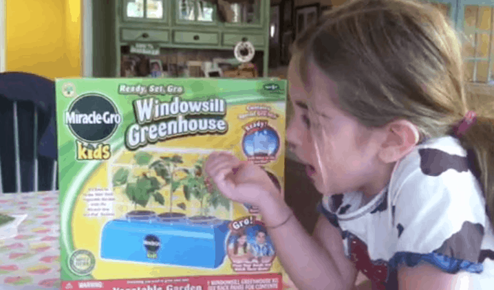 miracle gro windowsill greenhouse review