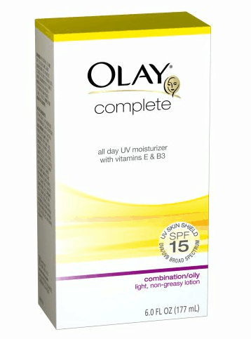 clear skin sunscreen olay