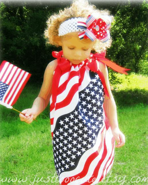 july 4th bandana dress
