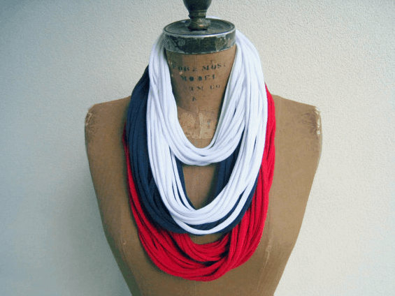july 4th tshirt scarf