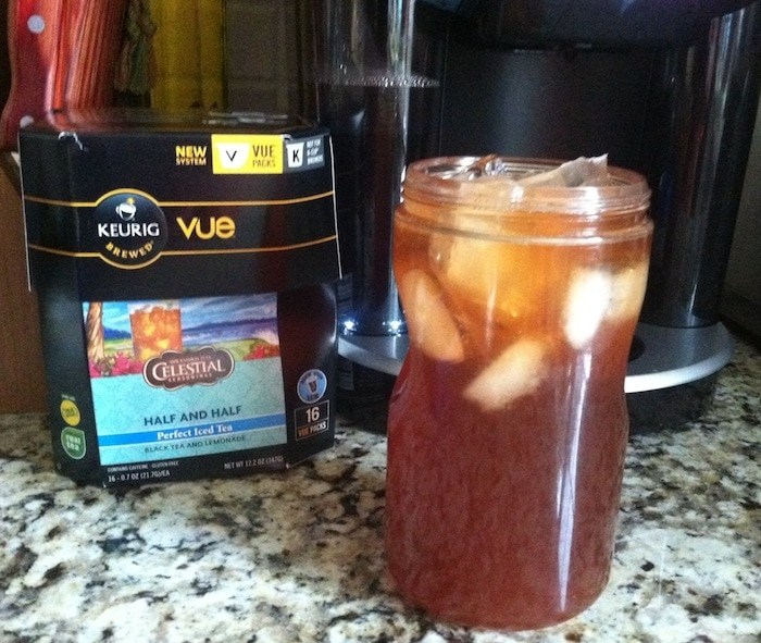 keurig vue black tea lemonade