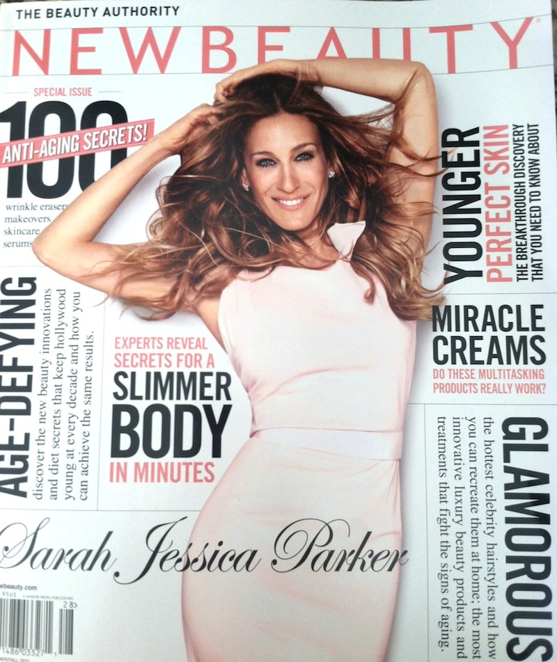 new beauty magazine sarah jessica parker