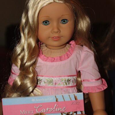 american girl doll caroline abbott 2012