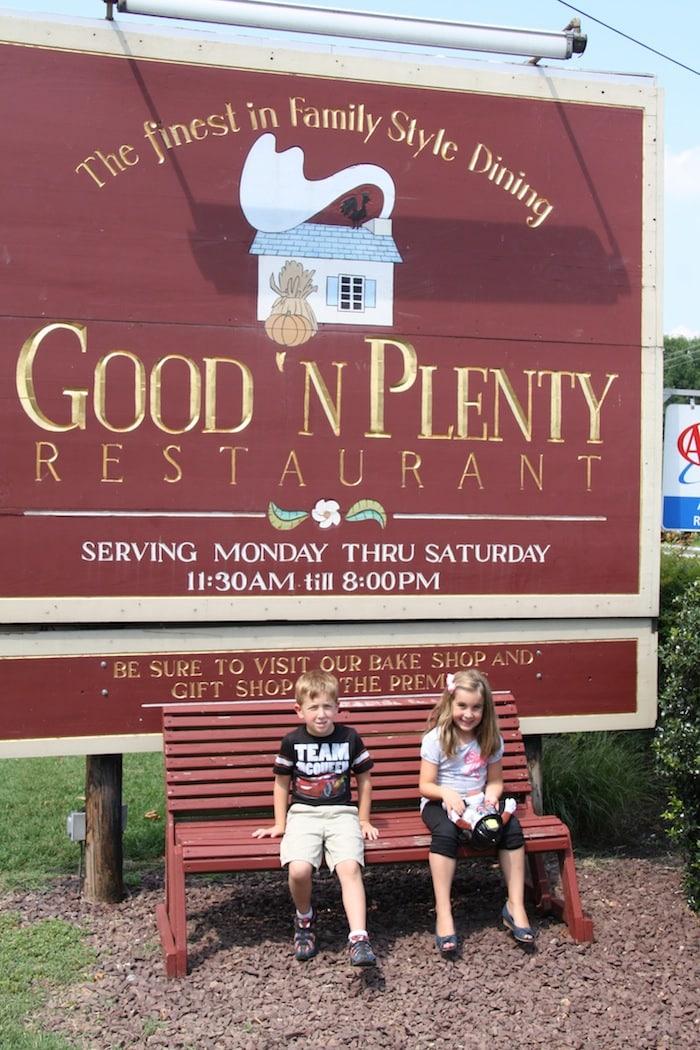 Good N Plenty Restaurant Family Dining Amish Country Lancaster