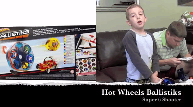 Hot Wheels Ballistiks Super 6 Shooter And Catapult Assault