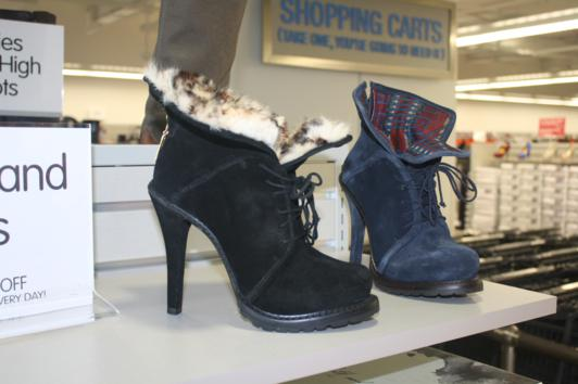 booties and boots for sale at Burlington Union Square