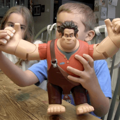 wreck it ralph talking toy review