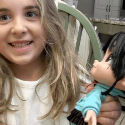 Vanellope Von Schweetz talking doll from Disney's Movie Wreck It Ralph