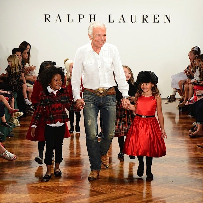 ralph lauren girls holiday 2012 show