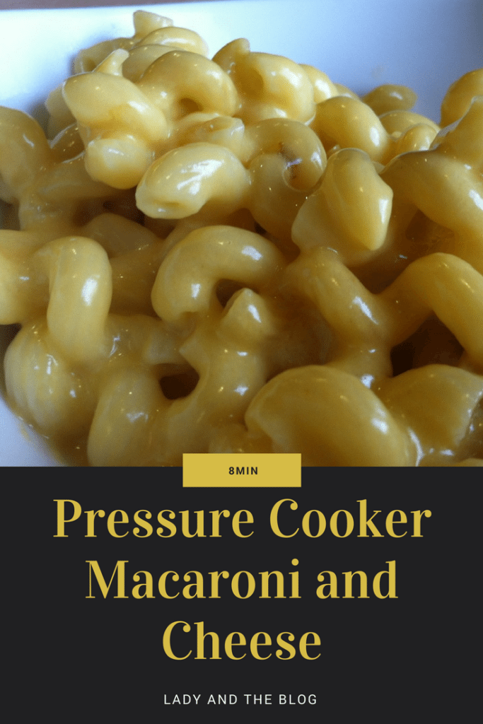 Pressure Cooker Macaroni and Cheese Recipe