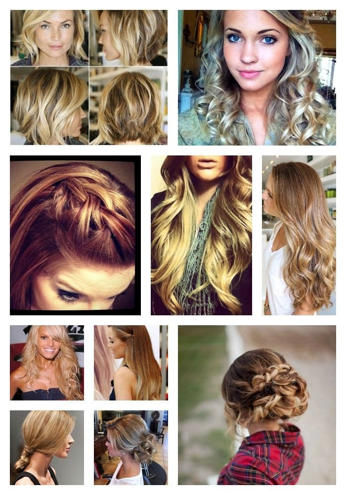 100 Top Hairstyles Every Woman Should Try: Braids, Curls, Up ...