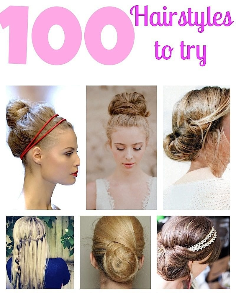100 Top Hairstyles Every Woman Should Try: Braids, Curls, Up-Dos And More
