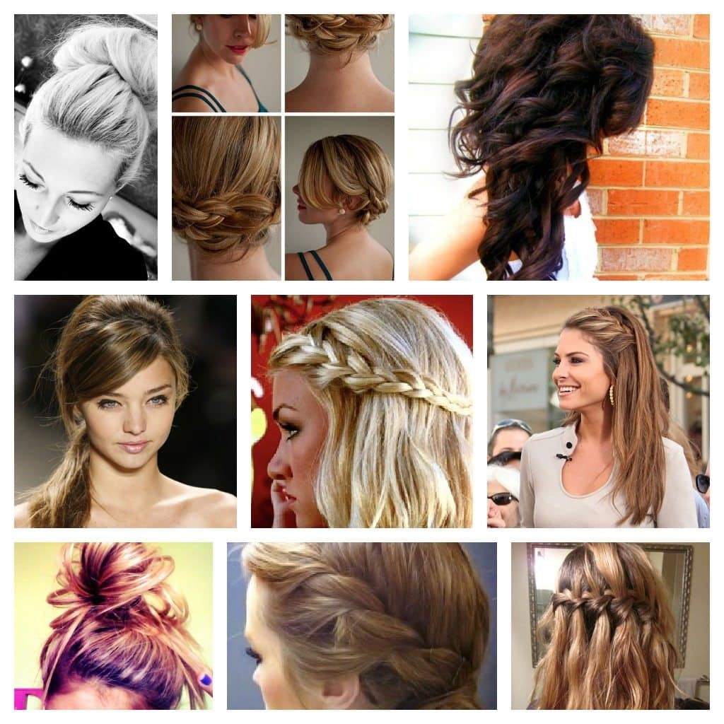 100 Top Hairstyles Every Woman Should Try: Braids, Curls, Up-Dos And ...