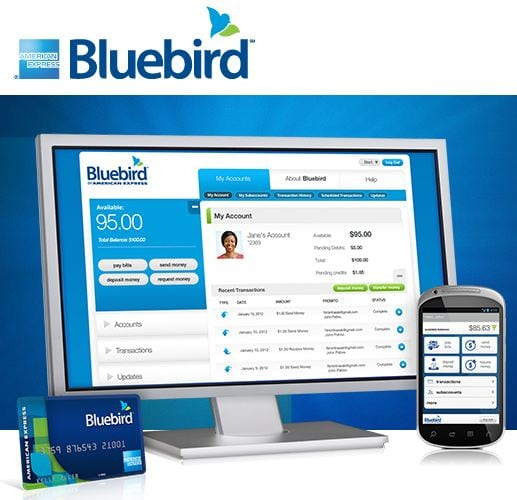 I Just Signed Up For Bluebird from American Express and Walmart!!