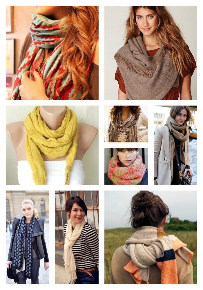 different ways How To Wrap A Scarf