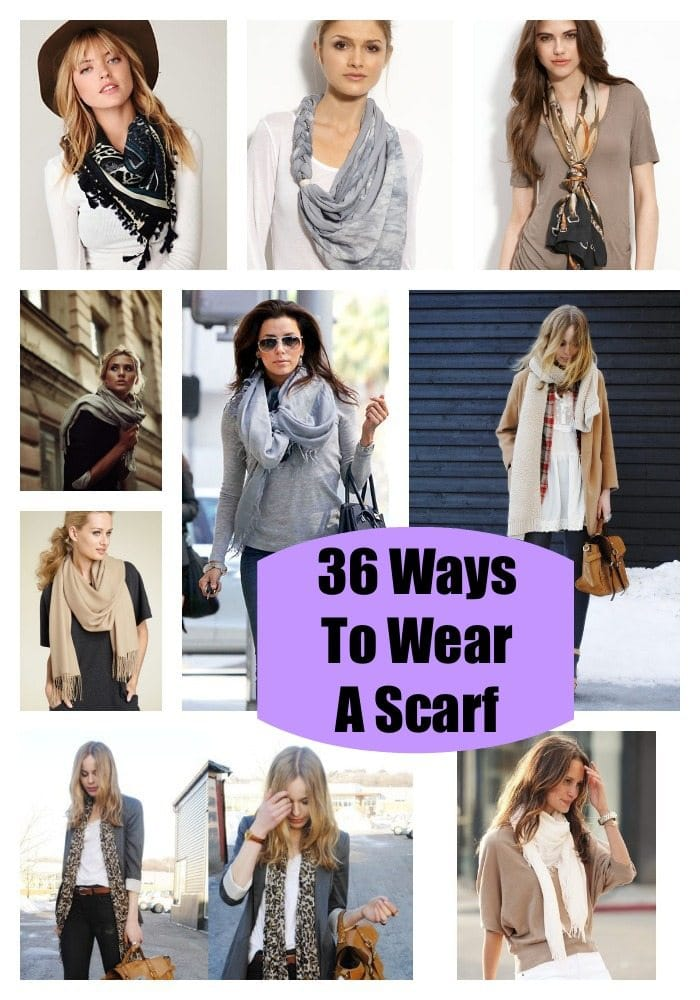 How To Wrap A Scarf