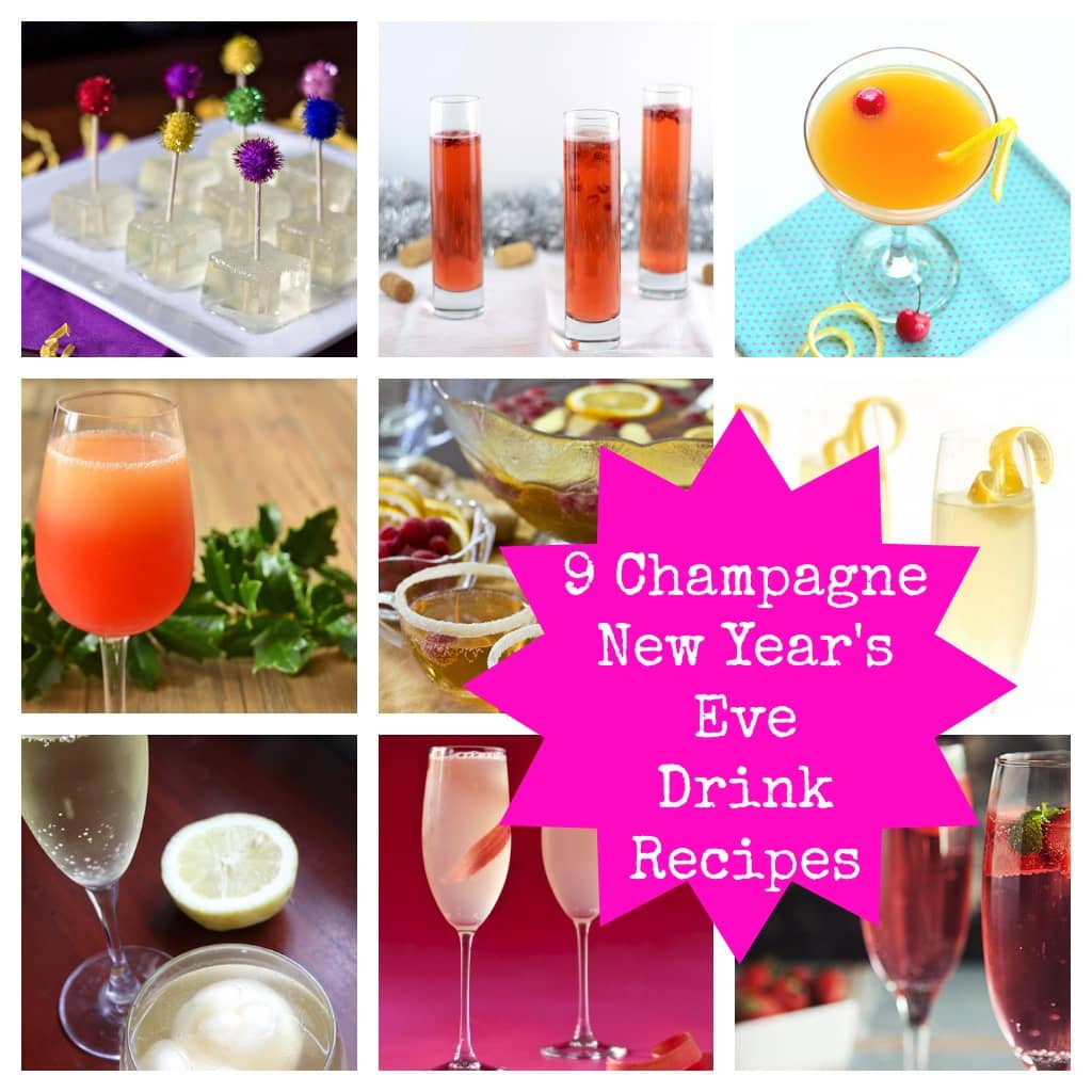 champagne new years eve drink recipes