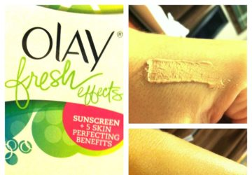 olay fresh effects bb cream beauty review