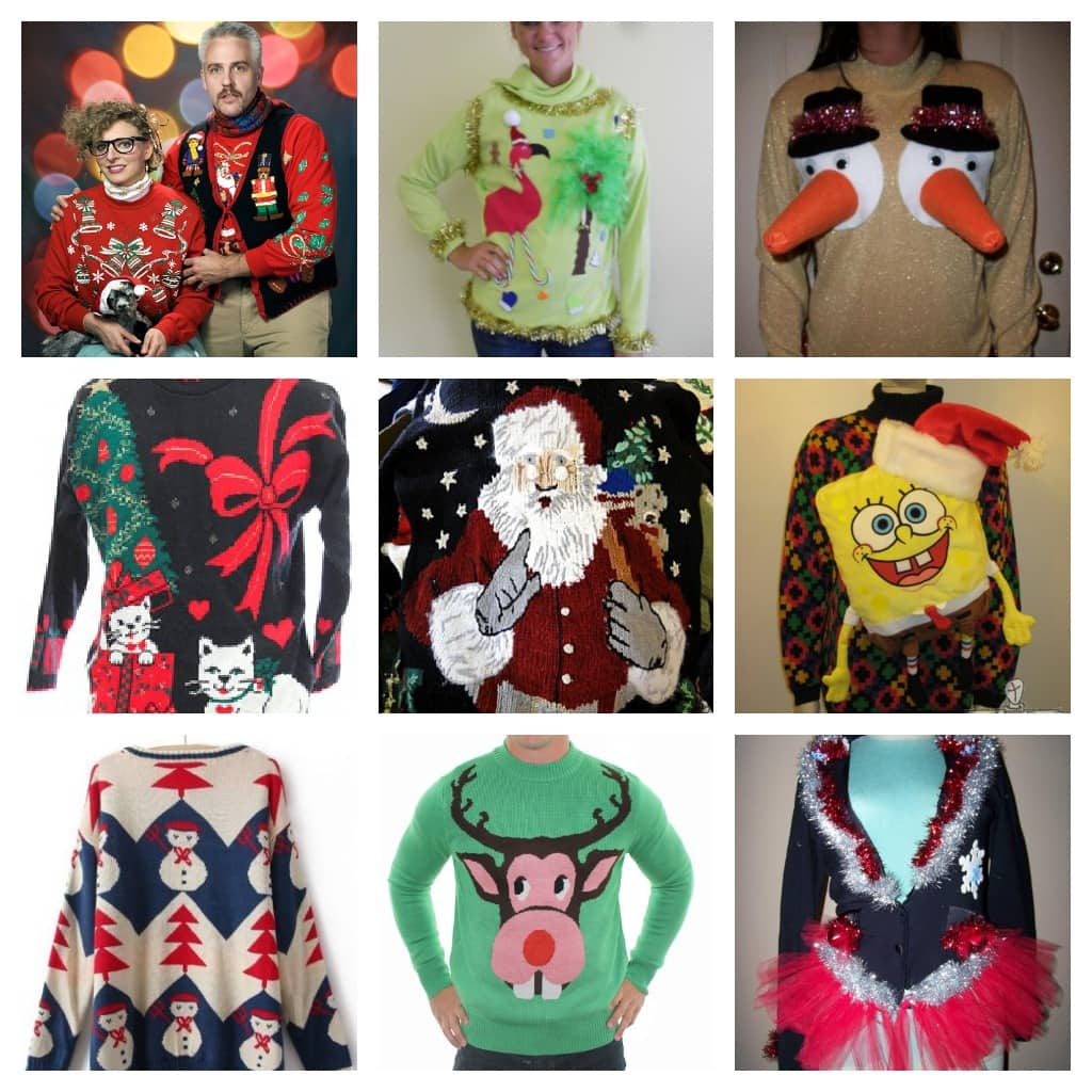 what - Childrens Ugly Christmas Sweaters