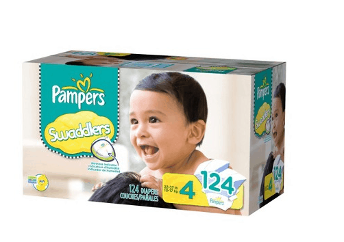 pampers swaddlers size 4 target