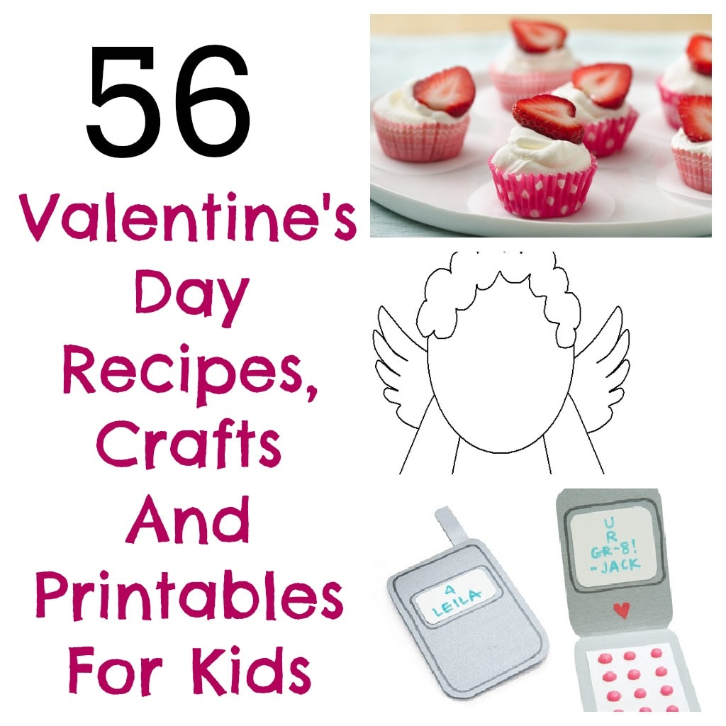 56 valentine 39 s day arts and crafts printables and snack for Valentine day arts and crafts