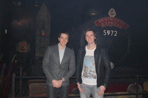 Exclusive Interview with James & Oliver Phelps (The Weasley Twins) at Harry Potter: The Exhibition