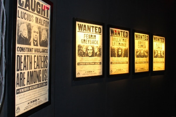 "Half-Blood Prince ""Wanted"" posters for known Death Eaters"