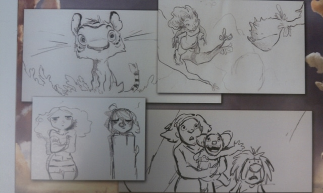 The Croods Story Boards