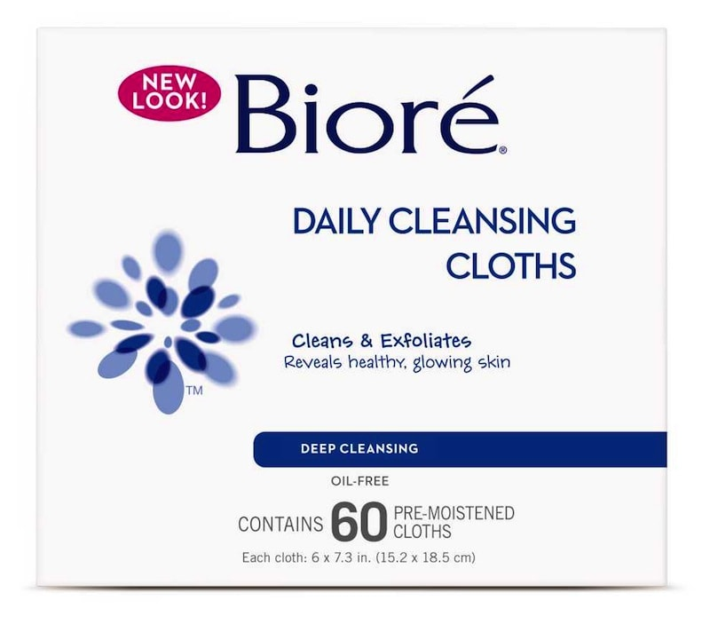 Biore Daily Cleansing Cloths_60ct