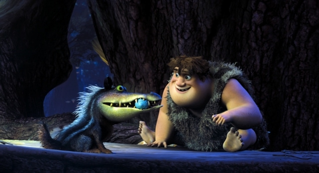 TheCroods Douglas and Thunk