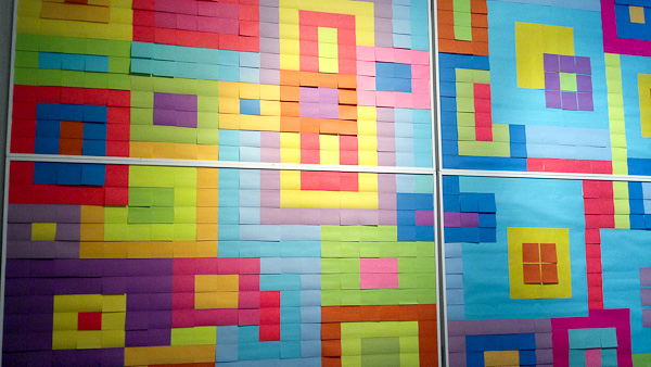 Post-It Party Wall Art
