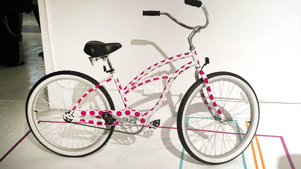 Post-It Party Decorate your bike with washi tape