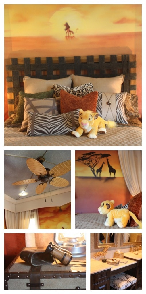Disney Golden Oaks Customized Rooms - Lion King