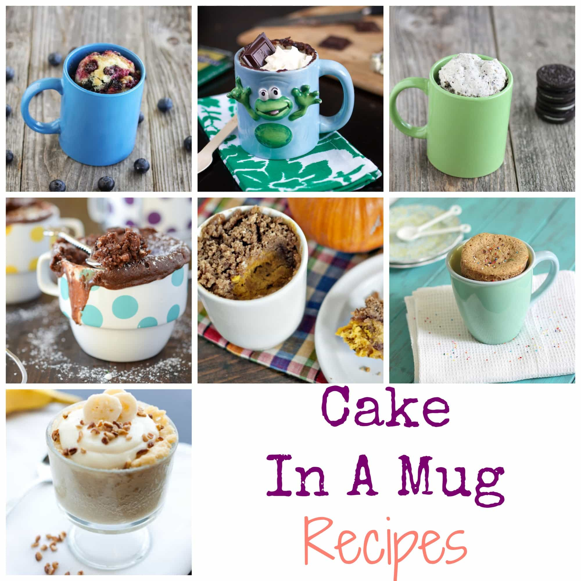 7 Cake In A Mug Recipes: Easy To Follow And Fun To Serve ...