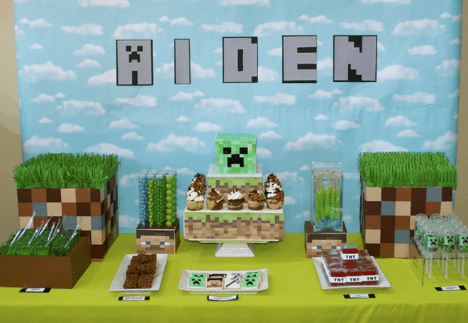 5 Minecraft Birthday Party Ideas That Will Blow Your Mind Away